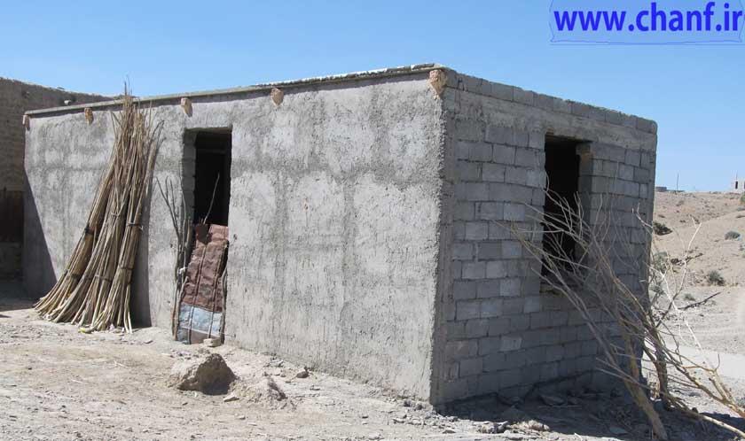 خانه های بنیاد مسکن نیکشهر-چانف